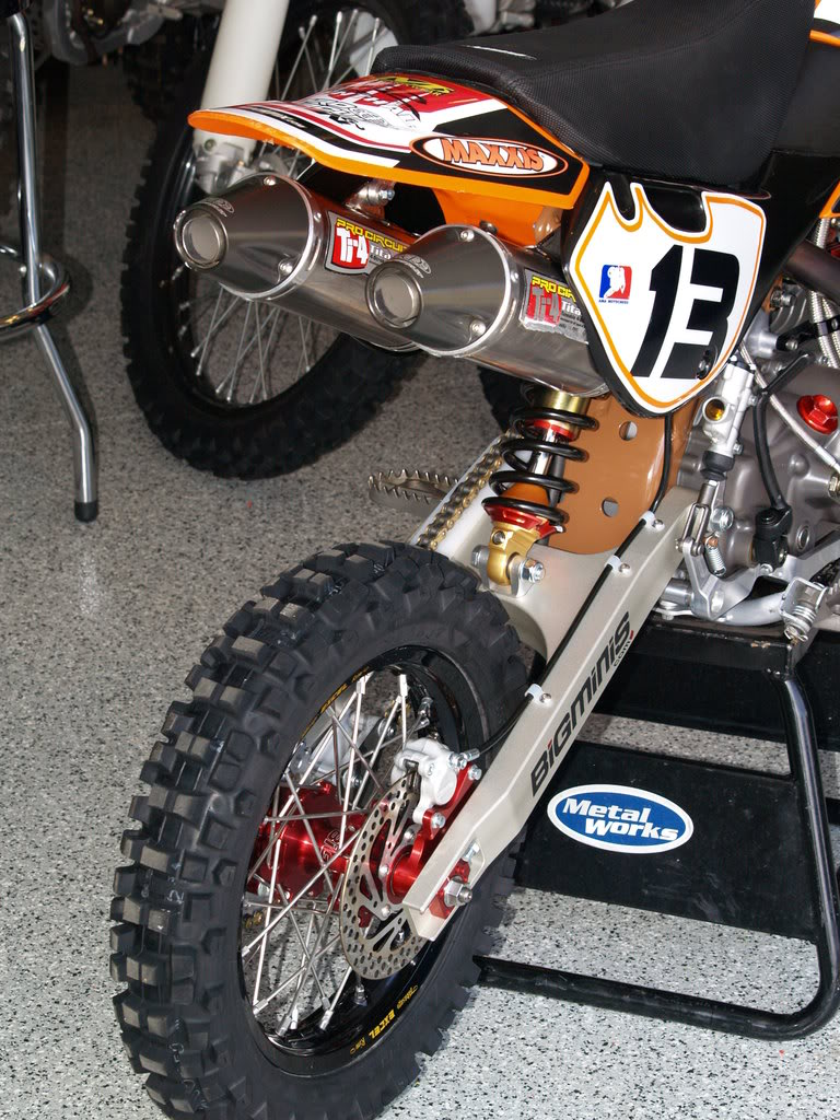 Big Minis KLX Rear End