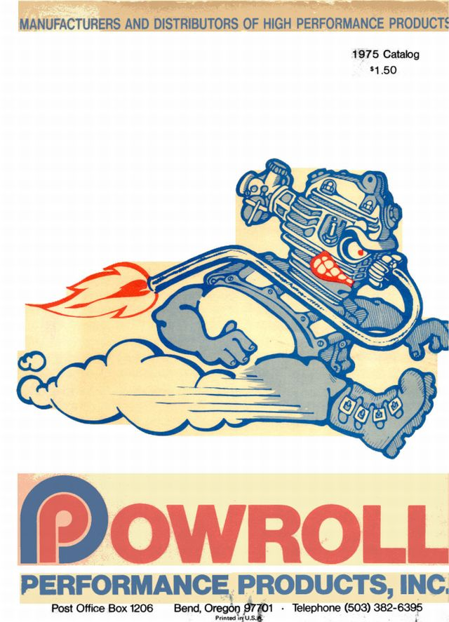 Vintage Powroll Catalog Cover
